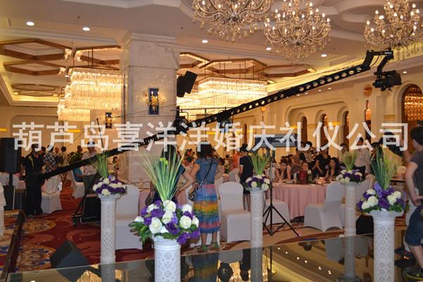 凯丽酒店婚宴现场 - 婚礼策划:葫芦岛喜洋洋婚庆礼仪