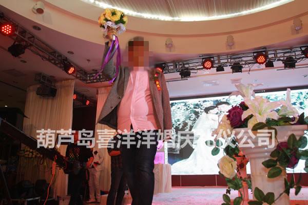 玉皇海王府婚宴现场 - 西式婚礼:葫芦岛喜洋洋婚庆__.
